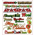 Sticker King - Cardstock Stickers - Christmas - Holiday Words