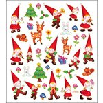 Sticker King - Cardstock Stickers - Forest Gnomes