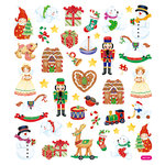 Sticker King - Clear Stickers - Christmas Toy Shop