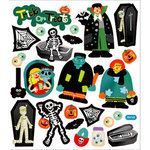 Sticker King - Clear Stickers - Halloween - Trick or Treat 2