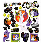 Sticker King - Clear Stickers - Halloween - A Ghostly Night