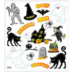 Sticker King - Cardstock Stickers - Halloween - Fright Night