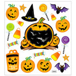 Sticker King - Cardstock Stickers - Halloween - Jack O Lanterns
