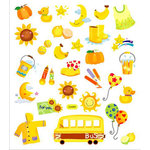 Sticker King - Clear Stickers - Back to School Fun