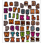 Sticker King - Cardstock Stickers - Animal Print Alphabet