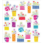 Sticker King - Clear Stickers - French Flowers