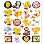 Sticker King - Cardstock Stickers - Playful Kittens