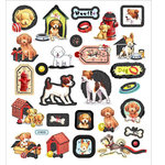 Sticker King - Cardstock Stickers - Puppy Love