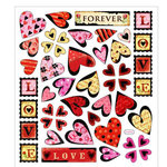 Sticker King - Cardstock Stickers - Forever Love