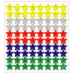 Sticker King - Stickers - Multi-Colored Stars