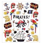 Sticker King - Clear Stickers - Pirates