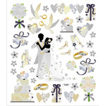 Sticker King - Cardstock Stickers - Wedding Dance