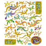 Sticker King - Cardstock Stickers - Island Geckos