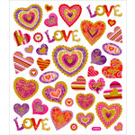 Sticker King - Cardstock Stickers - Red Hot Love