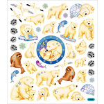 Sticker King - Cardstock Stickers - Polar Bears and Igloos