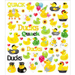 Sticker King - Cardstock Stickers - Ducks