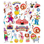 Sticker King - Clear Stickers - Circus Time