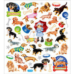 Sticker King - Clear Stickers - Dachshunds
