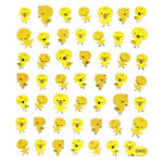 Sticker King - Clear Stickers - Big Headed Chicks