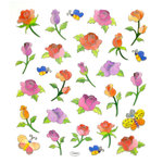 Sticker King - Clear Stickers - Long Stemmed Roses