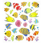 Sticker King - Clear Stickers - Tropical Fish