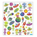 Sticker King - Clear Stickers - Aliens Among Us