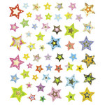 Sticker King - Cardstock Stickers with Foil Accents - Galactic Stars