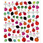 Sticker King - Clear Stickers - Lady Bugs