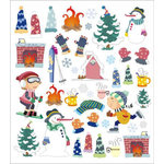 Sticker King - Clear Stickers - Winter Icons