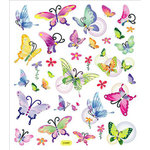 Sticker King - Clear Stickers - Butterflies in Flight