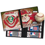 That's My Ticket - Major League Baseball Collection - Mascot Ticket Album - Arizona Diamondbacks - Baxter the Bobcat