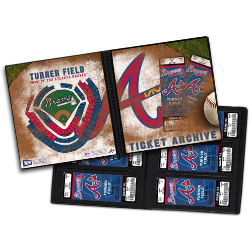 That's My Ticket - Major League Baseball Collection - Ticket Album - Atlanta Braves