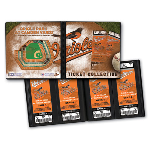 That's My Ticket - Major League Baseball Collection - Ticket Album - Baltimore Orioles