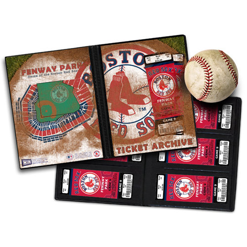 That's My Ticket - Major League Baseball Collection - 8 x 8 Ticket Album - Boston Red Sox