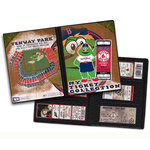 That's My Ticket - Major League Baseball Collection - 8 x 8 Mascot Ticket Album - Boston Red Sox - Wally The Green Monster