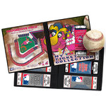 That's My Ticket - Major League Baseball Collection - 8 x 8 Mascot Ticket Album - Cleveland Indians - Slider