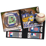 That's My Ticket - Major League Baseball Collection - 8 x 8 Mascot Ticket Album - Colorado Rockies - Dinger