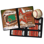 That's My Ticket - Major League Baseball Collection - Ticket Album - Houston Astros
