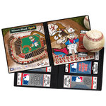 That's My Ticket - Major League Baseball Collection - 8 x 8 Mascot Ticket Album - Houston Astros - Junction Jack