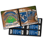 That's My Ticket - Major League Baseball Collection - Ticket Album - Kansas City Royals