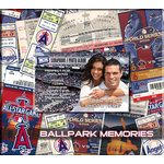 That's My Ticket - Major League Baseball Collection - 8 x 8 Postbound Scrapbook and Photo Album - Los Angeles Angels