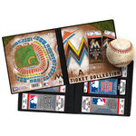 That's My Ticket - Major League Baseball Collection - 8 x 8 Ticket Album - Miami Marlins