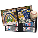 That's My Ticket - Major League Baseball Collection - 8 x 8 Mascot Ticket Album - Milwaukee Brewers - Bernie Brewer