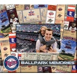 That's My Ticket - Major League Baseball Collection - 8 x 8 Postbound Scrapbook and Photo Album - Minnesota Twins