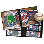 That's My Ticket - Major League Baseball Collection - 8 x 8 Ticket Album - Minnesota Twins
