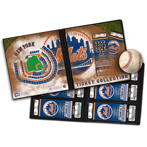 That's My Ticket - Major League Baseball Collection - Ticket Album - New York Mets - Citi Field