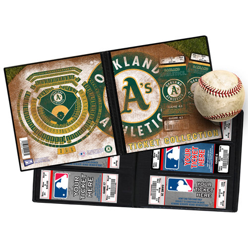That's My Ticket - Major League Baseball Collection - Ticket Album - Oakland Athletics