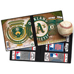 That's My Ticket - Major League Baseball Collection - 8 x 8 Ticket Album - Oakland Athletics