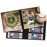 That's My Ticket - Major League Baseball Collection - Mascot Ticket Album - Oakland Athletics - Stomper