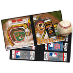 That's My Ticket - Major League Baseball Collection - 8 x 8 Mascot Ticket Album - Pittsburgh Pirates - Captain Jolly Roger and Pirate Parrot